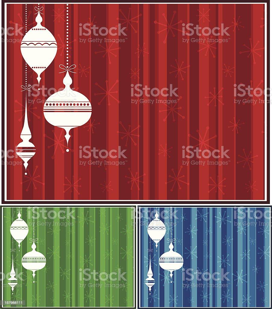 Retro Ornaments Background royalty-free stock vector art