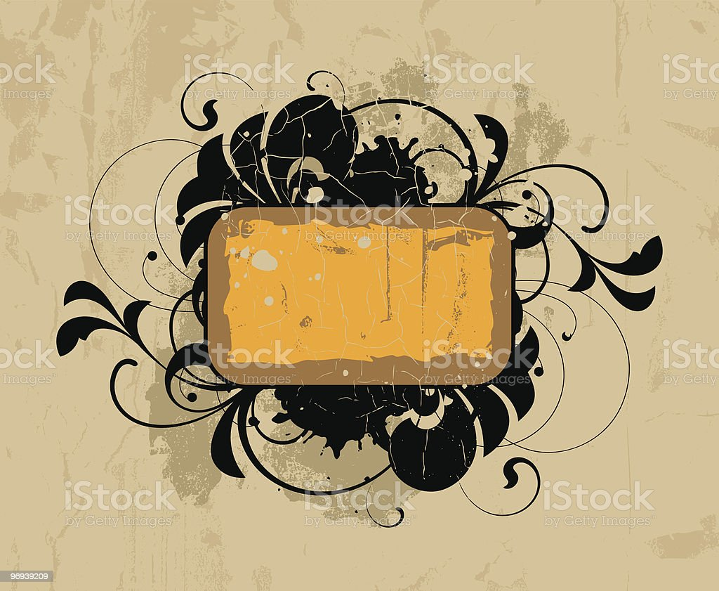 Retro panel royalty-free retro panel stock vector art & more images of abstract