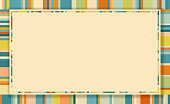 istock Retro Patchwork Frame Design 1276931528