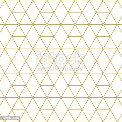 Elegant retro pattern gold squares. Fashion style.
