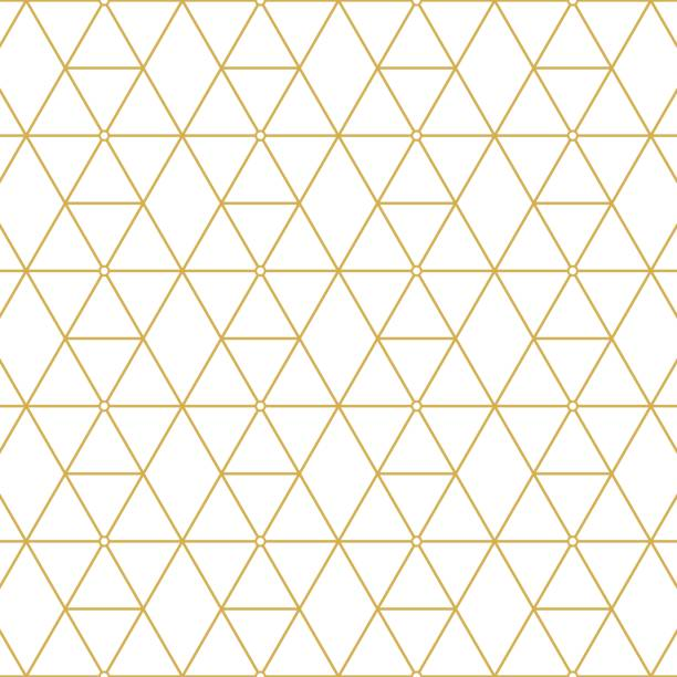 retro pattern gold squares - fashion backgrounds stock illustrations, clip art, cartoons, & icons