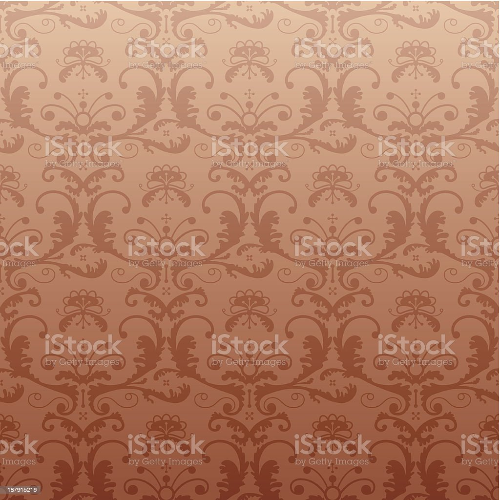 Retro pattern in vintage style. royalty-free stock vector art