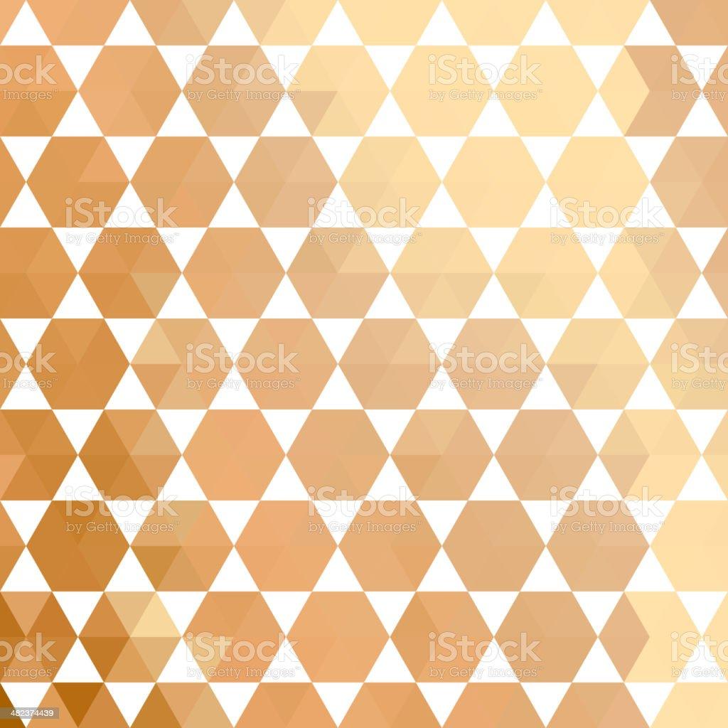 Retro pattern of geometric shapes royalty-free stock vector art