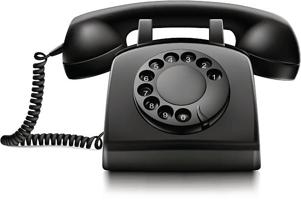 Rotary Phone Clipart