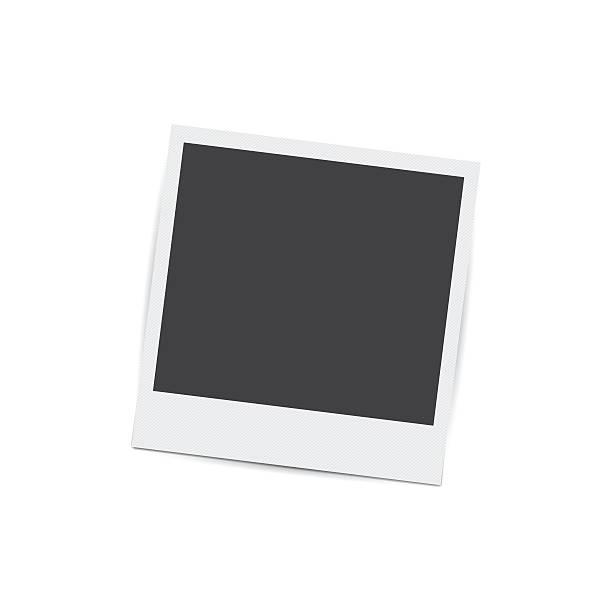 ilustraciones, imágenes clip art, dibujos animados e iconos de stock de foto retro marco aislado sobre fondo blanco  - bordes de marcos de fotografías
