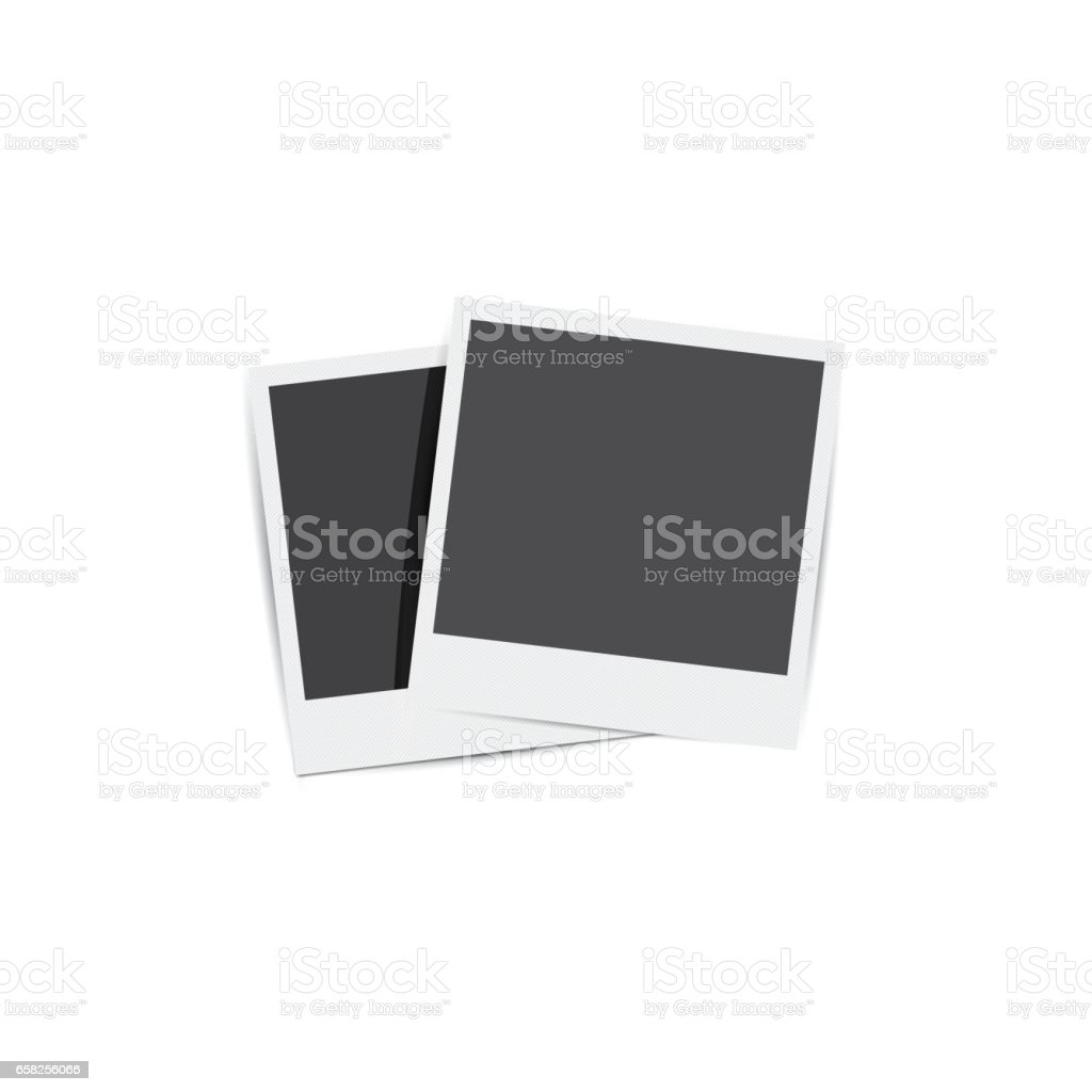 Retro Photo Frames Stock Vector Art & More Images of Abstract ...