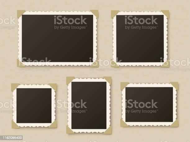 Retro photo frames vintage paper picture frame template for nostalgia vector id1162095400?b=1&k=6&m=1162095400&s=612x612&h=hwnvypcaemrlub56pccgwrvxefxxlghutleugfmemhc=