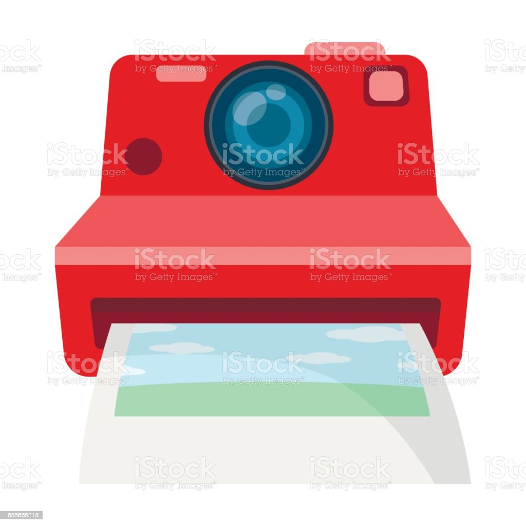Retro photocamera icon in cartoon style isolated on white background. Hipster style symbol stock vector illustration. 免版稅 retro photocamera icon in cartoon style isolated on white background hipster style symbol stock vector illustration 向量插圖及更多 卡通 圖片