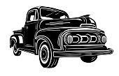 istock Retro Pick Up Truck 1268569739