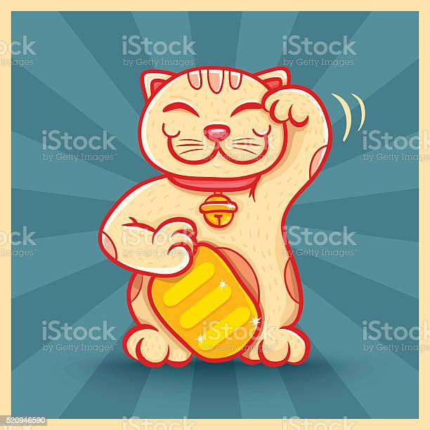 Retro poster with lucky cat vector id520946590?b=1&k=6&m=520946590&s=612x612&h=cnqj2erhbz2nmjd3igs0s8kpaz4scews7vl1628qqf0=