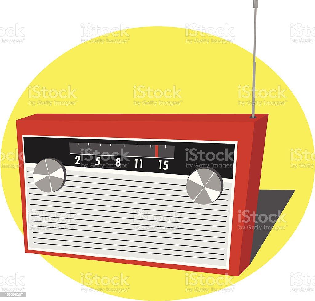 Retro Radio royalty-free stock vector art