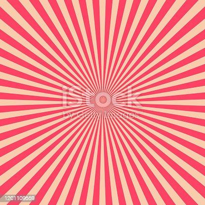 istock retro red starburst 1201109559