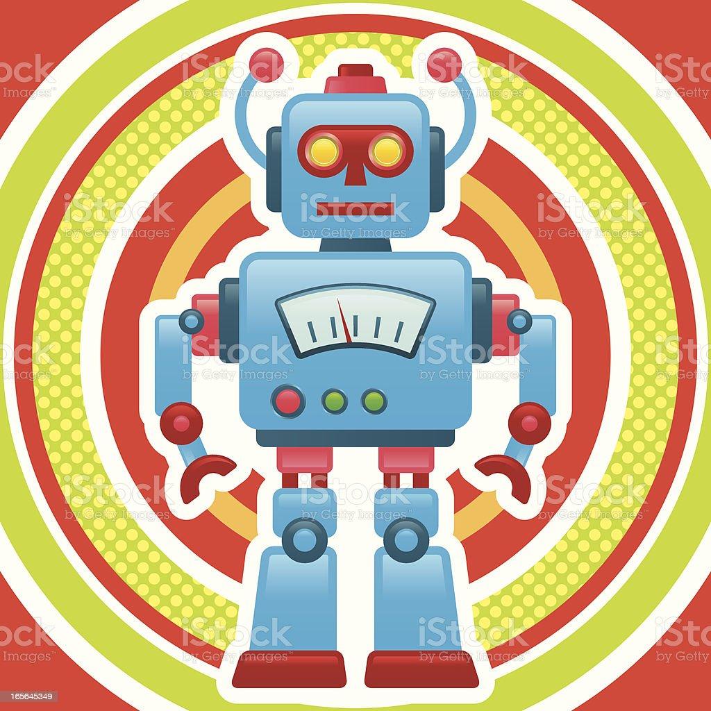 retro robot royalty-free retro robot stock illustration - download image now