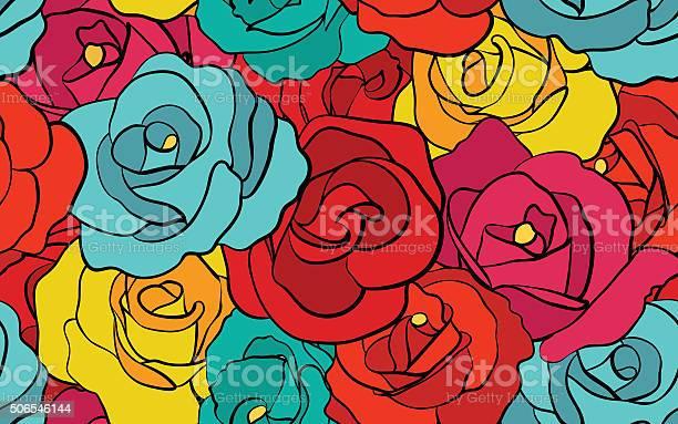 Retro rose seamless pattern vector id506546144?b=1&k=6&m=506546144&s=612x612&h=t vevxly0rodjb1uwyjl7stvmspehwm z8obkgakjmc=