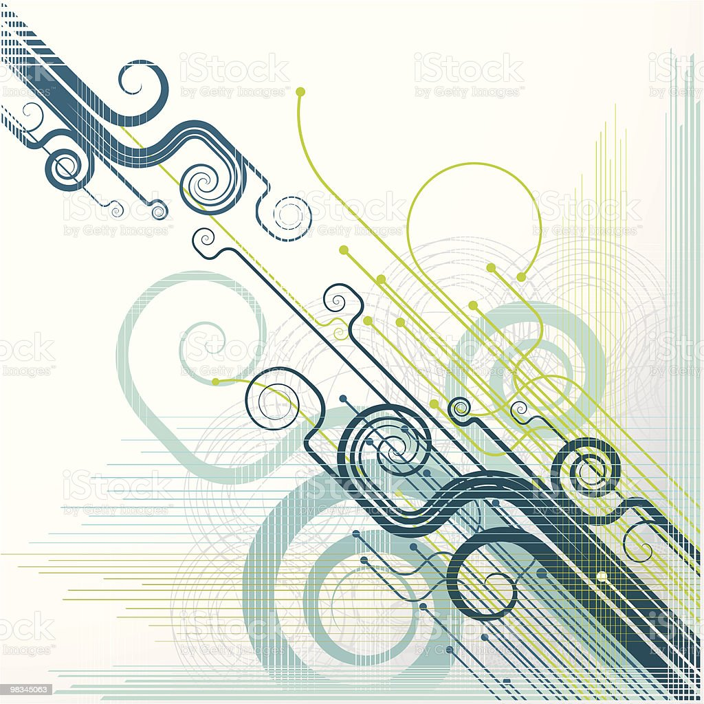 Retro Scroll royalty-free retro scroll stock vector art & more images of abstract
