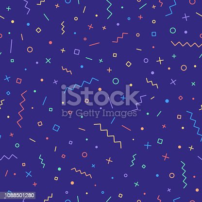 Retro seamless abstract background pattern.