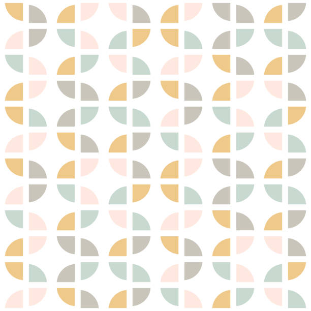 Retro seamless pattern. Mid-century modern style. Abstract repeating background for web or printing. Geometric vector wallpaper. Retro seamless pattern. Mid-century modern style. Abstract repeating background for web or printing. Geometric vector wallpaper. modern interior stock illustrations