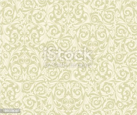 retro-styled decorative seamless background, vector artwork