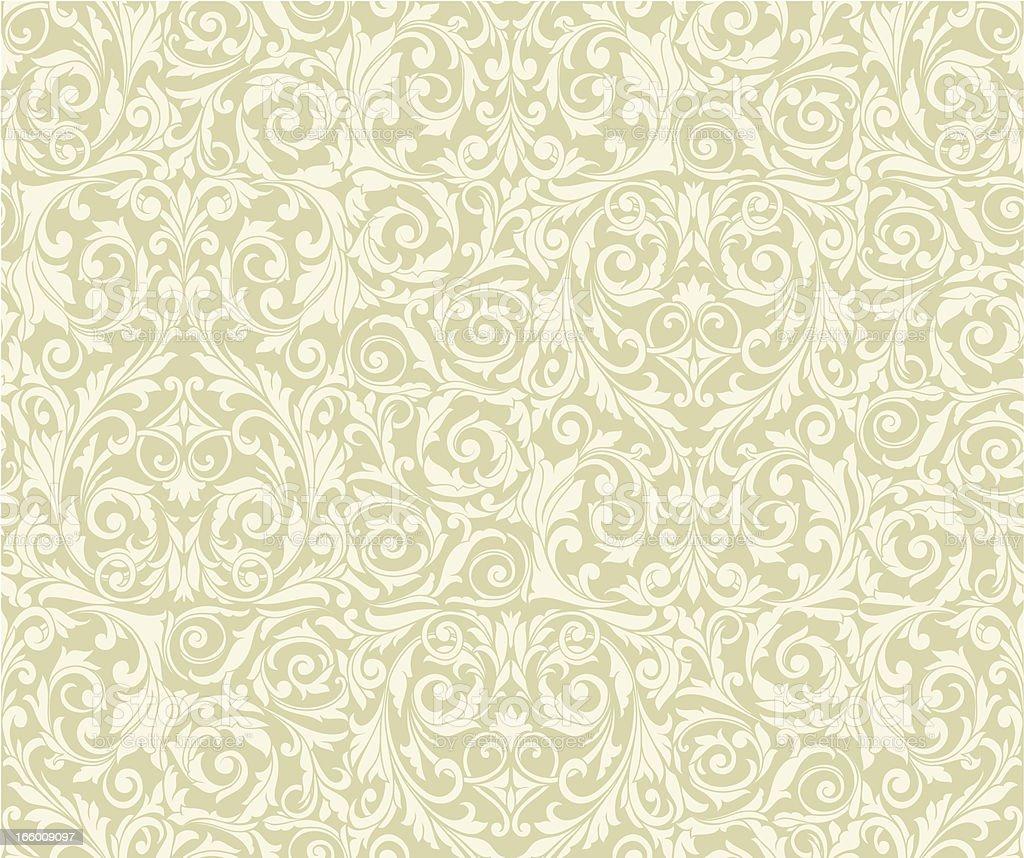 Retro seamless pattern vector art illustration