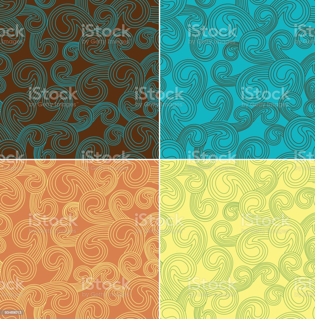 Retro seamless royalty-free retro seamless stock vector art & more images of abstract