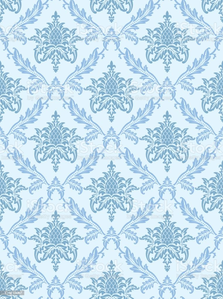 Retro Seamless Wallpaper royalty-free stock vector art