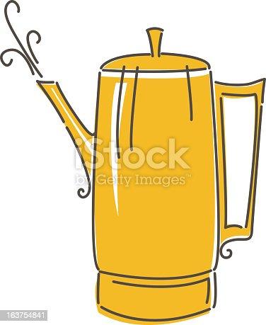Sketchy Coffee Pot