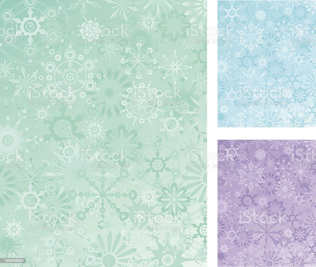 retro snowflake background royalty-free stock vector art