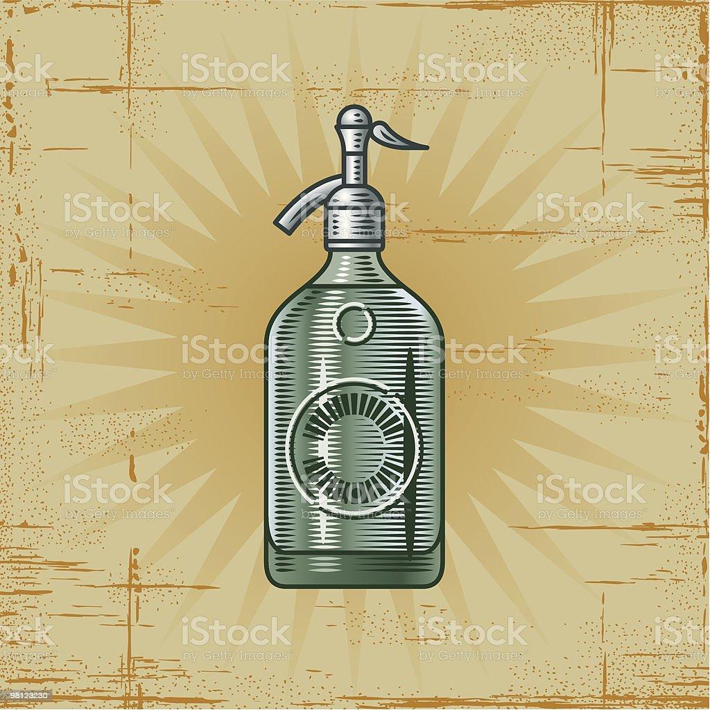 Retro Soda Siphon royalty-free retro soda siphon stock vector art & more images of bottle
