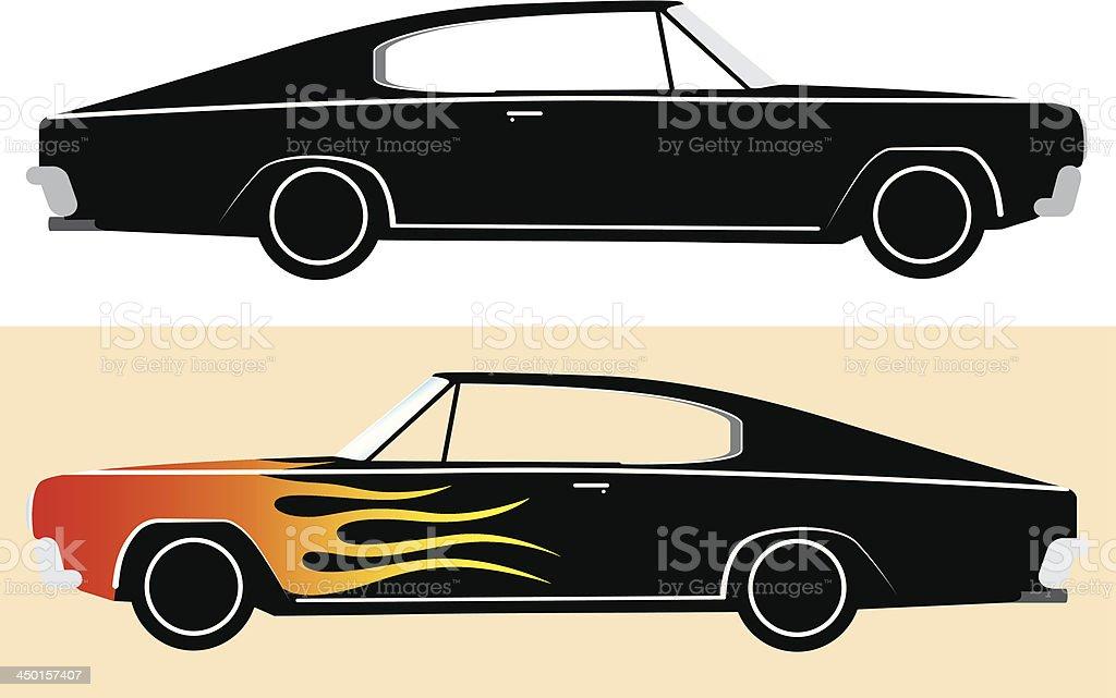 Retro sport car royalty-free retro sport car stock vector art & more images of art