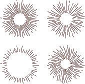 star burst design elements