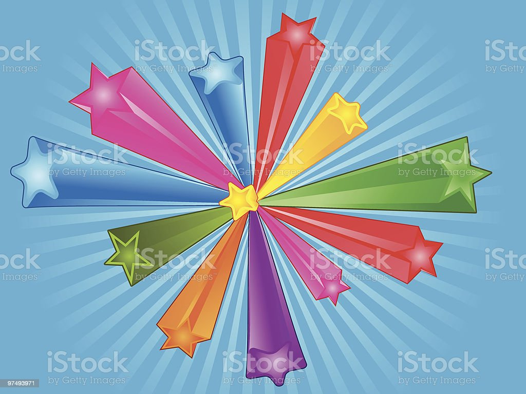 Retro Star royalty-free retro star stock vector art & more images of backgrounds