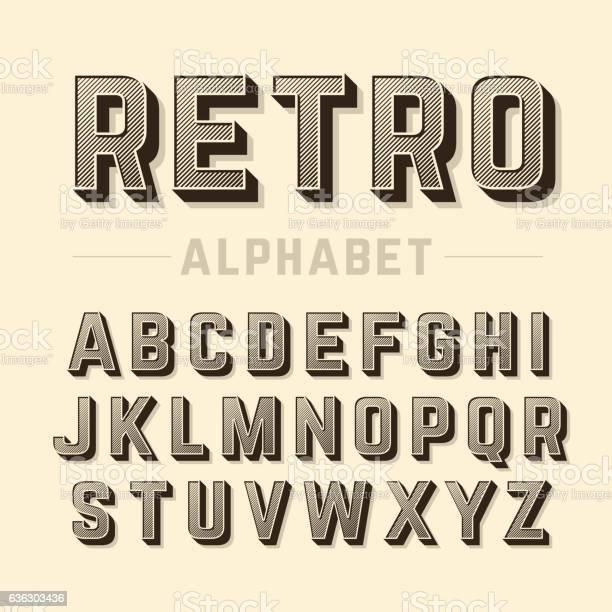 Retro style alphabet vector id636303436?b=1&k=6&m=636303436&s=612x612&h=3xscrpvkhcijrw9alm6ps15se5mhk jh yc4x7ic2xu=