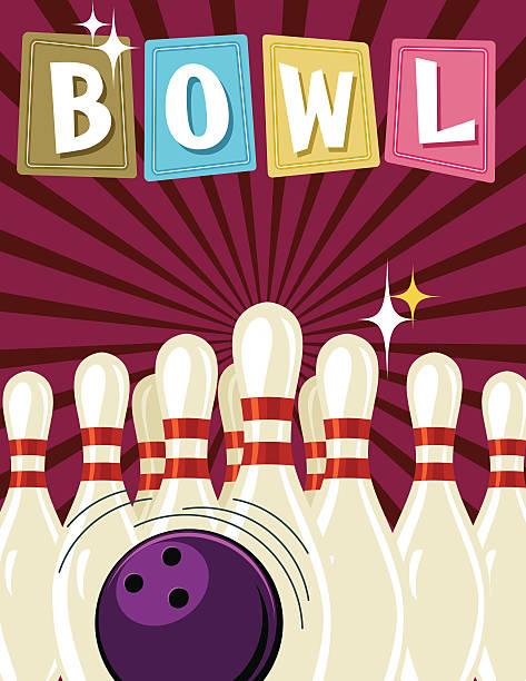 royalty free bowling pin set up clip art vector images