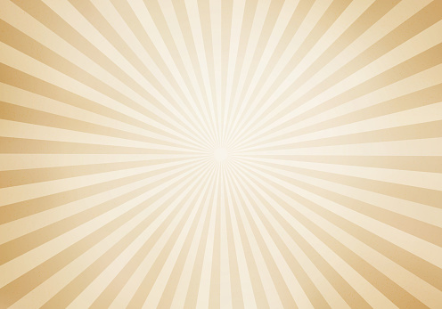 Retro style sunburst and rays comic cartoon background. Abstract vintage grunge with sunlight