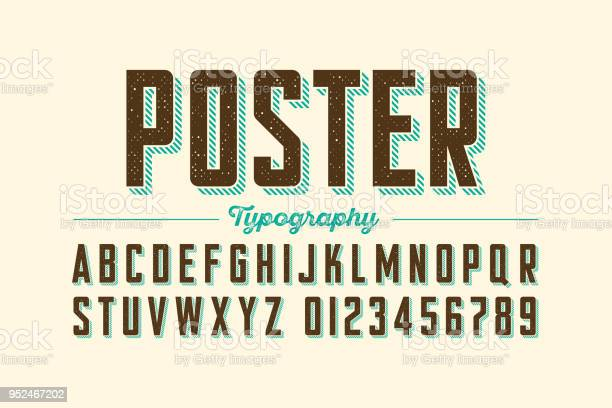 Retro style vintage font vector id952467202?b=1&k=6&m=952467202&s=612x612&h=ykkxykcegnzy7tpelouzumier 32o2nswwkrolcpdps=