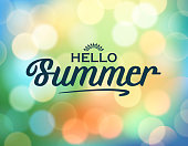 drawn of vector retro summer background.This file has been used illustrator CS3 EPS10 version feature of multiply.