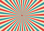 istock Retro sunburst and rays comic cartoon popart style background. Abstract vintage grunge with sunlight. 1130390111