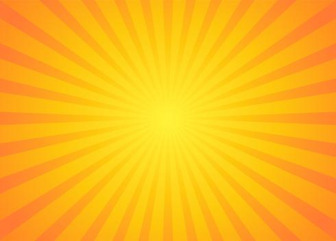 Retro sunburst ray in vintage style.
