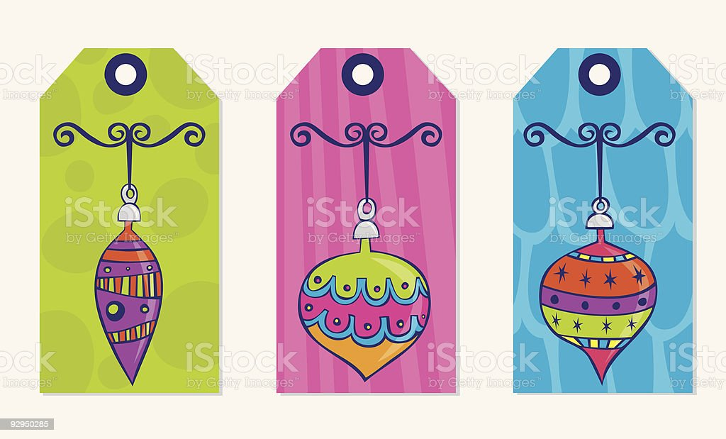 Retro tags royalty-free retro tags stock vector art & more images of christmas