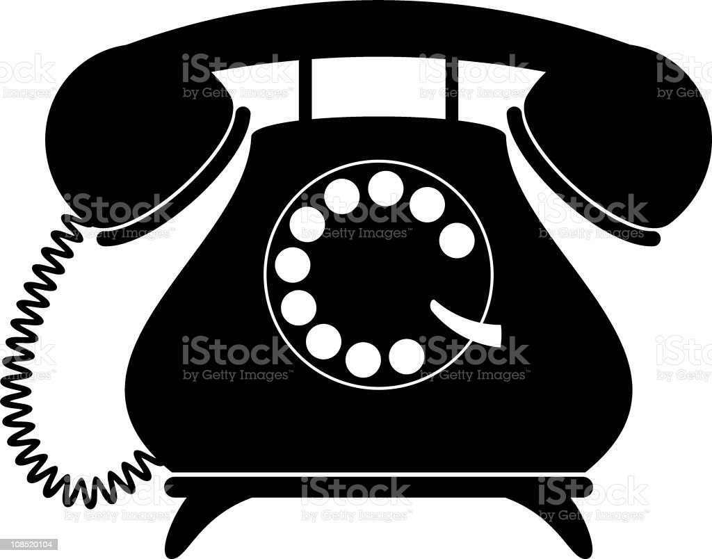 Phone Vintage Clipart Personal and small comercial use. 43 Retro Telephone clip art