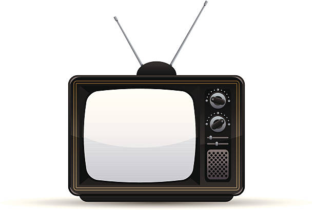 Royalty Free Old Tv Clip Art, Vector Images ...