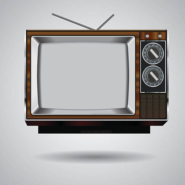royalty free retro tv clip art vector images illustrations istock
