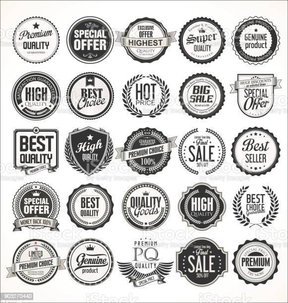 Retro vintage badges and labels collection vector id903270440?b=1&k=6&m=903270440&s=612x612&h=p2fbn8b qyswshvsccngnsojokwxpsxpksqd4oimbxw=