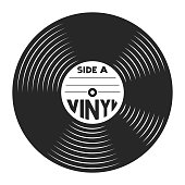 istock Retro vinyl record concept 980711798