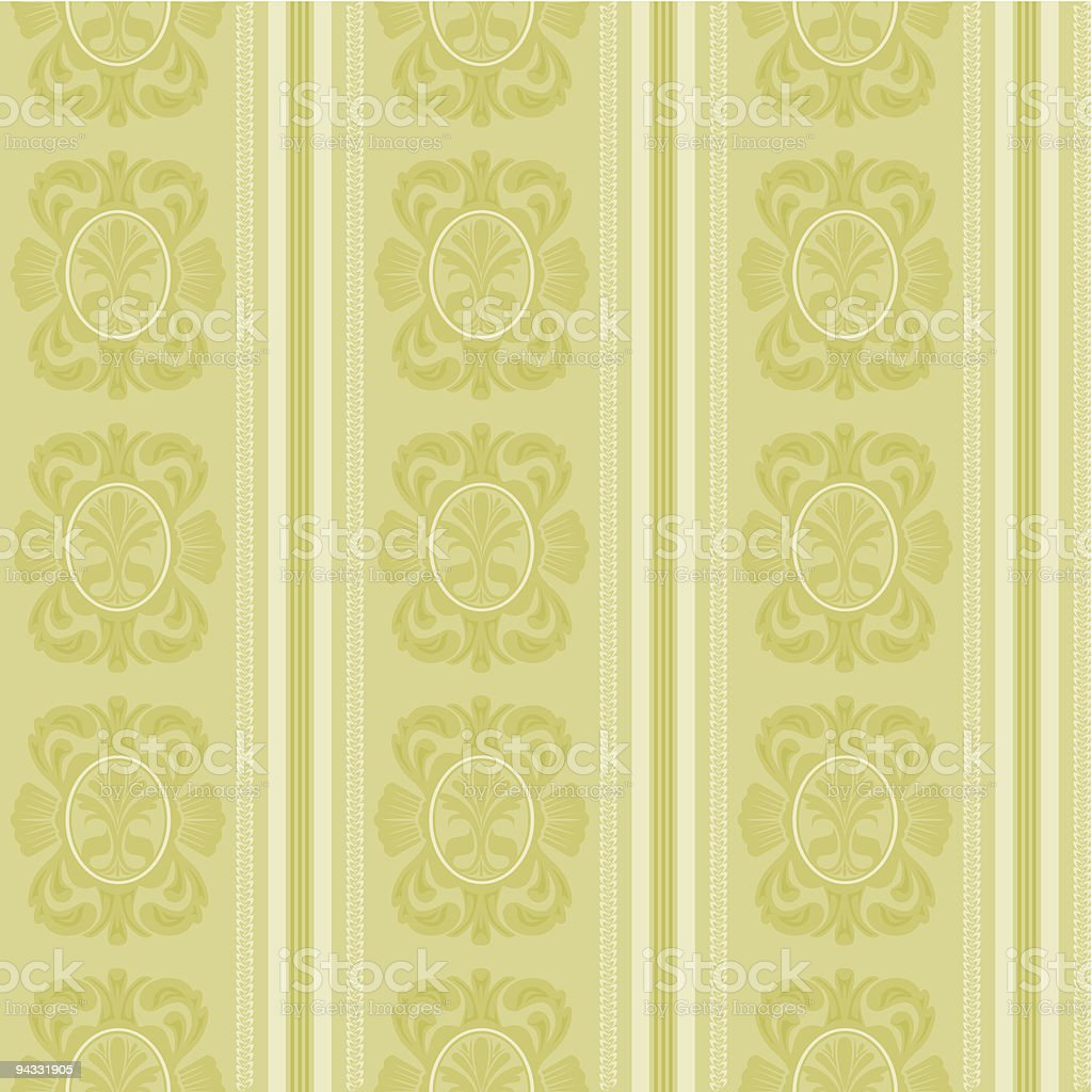 Retro Wallpaper Series (seamless) royalty-free stock vector art