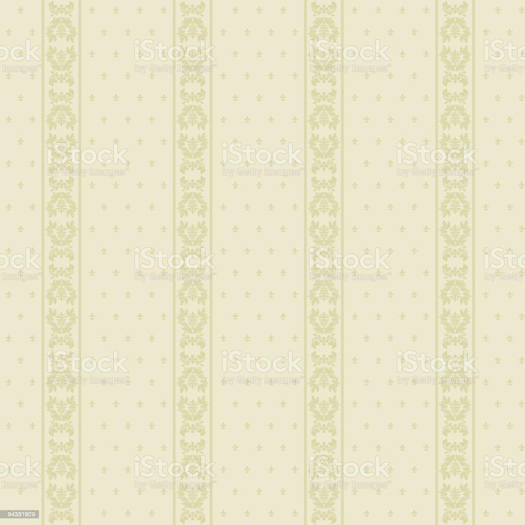 Retro Wallpaper Series (seamless) - Royalty-free Antique stock vector