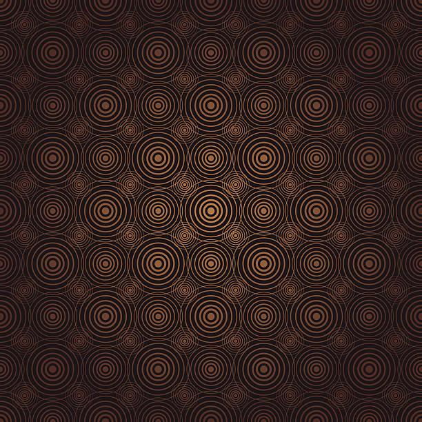Retrocentric (Seamless) vector art illustration