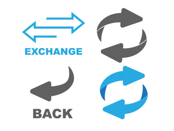 Return Icon. Flip over or turn arrow. Reverse sign Return Icon. Flip over or turn arrow. Reverse sign repetition stock illustrations