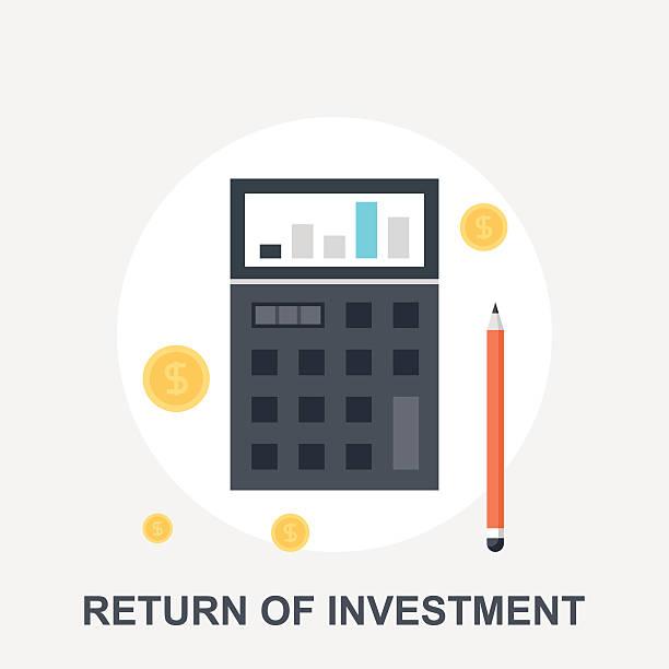 illustrazioni stock, clip art, cartoni animati e icone di tendenza di ritorno degli investimenti - repubblica d'irlanda