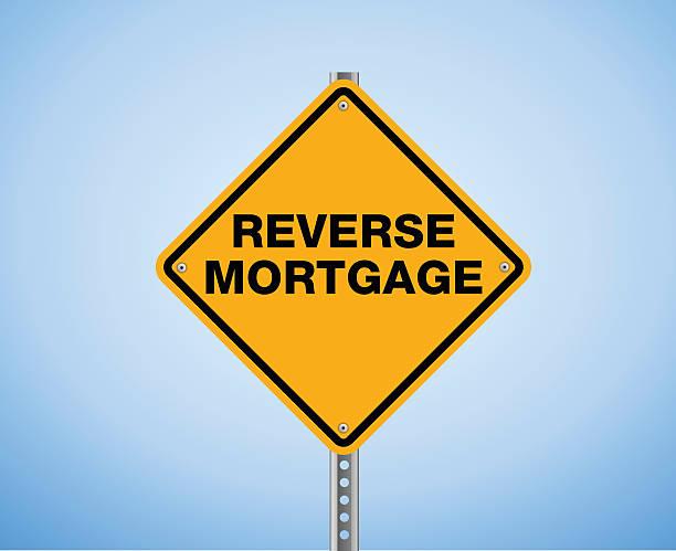 ilustraciones, imágenes clip art, dibujos animados e iconos de stock de revertir mortgage - hipotecas y préstamos
